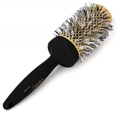Korea Golden Big Roll Hair Comb Pear Air Style