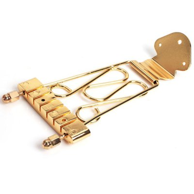 HJY-56 High Quality 6 String Tailpiece - Golden