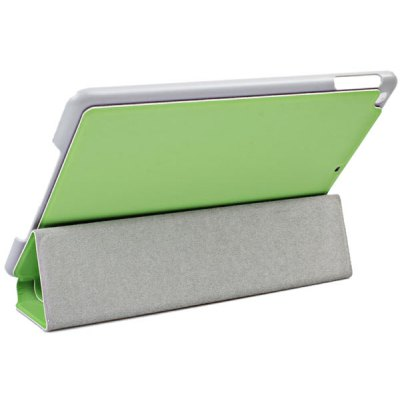 Fashion Style PU Leather + PC Case for iPad Air ( iPad 5 ) with Foldable Stand Function