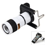 Portable 8x18 Universal Mobile Phone Monocular Telescope