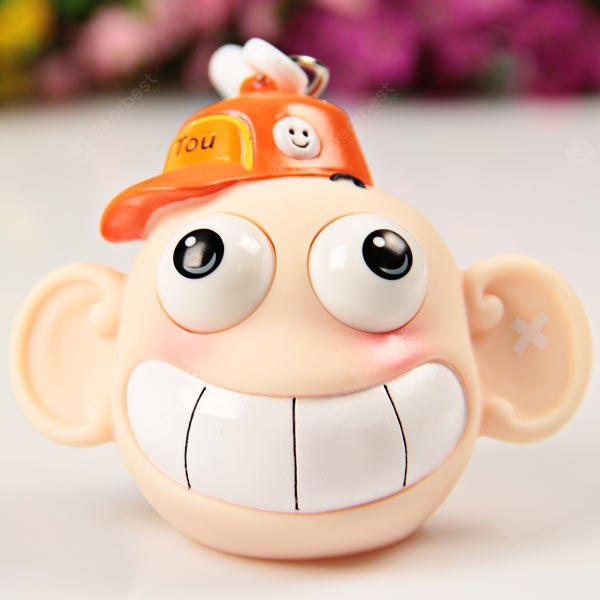 Funny School Leatherhead Wearing Hat Doll Toy Goggle - eyed Bag Pendent Interesting Decompression To