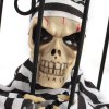 Buy 2013 Fashion Halloween Props Funny Toys Light Controlled Novelty Cage Skeleton Ghost Toy