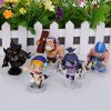 5Pcs Online Game the Defence of the Ancients Figure Model Toy with Transparent Standing Bases deal