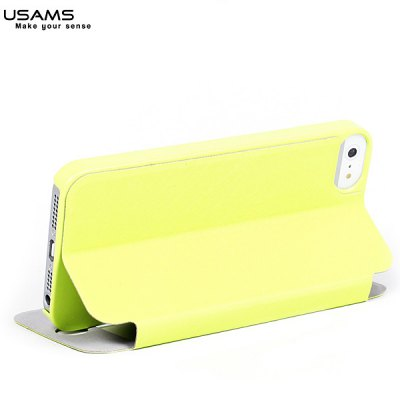 USAMS Touch Series Fashion Style View Window PU Leather + PC Case for iPhone 5 / 5SiPhone Cases/Covers<br>USAMS Touch Series Fashion Style View Window PU Leather + PC Case for iPhone 5 / 5S<br><br>Brand: USAMS<br>Compatible for Apple: iPhone 5/5S<br>Features: Cases with Stand<br>Material: PU Leather,Plastic<br>Style: Modern<br>Color: Pink,Black,White,Blue,Green<br>Product weight: 0.040 kg<br>Product size (L x W x H): 12.8 x 6.2 x 1.3 cm<br>Package Contents: 1 x Case