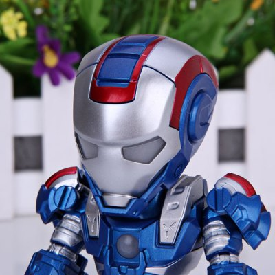 Гаджет   Super Cool American Hero Funny Body Design Funny Appearence Iron Man with Movable Joints Figure Model Q Version Dolls & Action Figures
