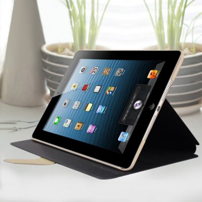 Гаджет   Baseus Cool Faith Series PU Leather + PC Protective Case for iPad 5 with Stand and Dormancy Function iPad Cases/Covers