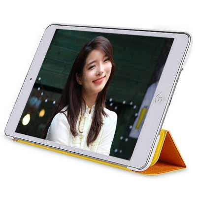 Baseus Unique PU Leather + Plastic Case for iPad Mini Retina with Stand and Dormancy Function
