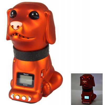 Ty - 023 Personalized Couchant Dog Design Stereo Speaker With TF/USB D
