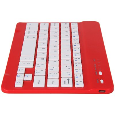 Гаджет   Ultrathin Design Bluetooth Wireless Keyboard with Built-in Battery for Tablet PC Tablet PCs