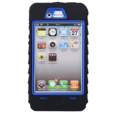 Cool Tire Design Silicone + Plastic Back Case for iPhone 4 / 4SiPhone Cases/Covers<br>Cool Tire Design Silicone + Plastic Back Case for iPhone 4 / 4S<br><br>For: Mobile phone<br>Compatible for Apple: iPhone 4/4S<br>Features: Full Body Cases<br>Material: Silicone, Plastic<br>Style: Special Design<br>Color: Black, White, Pink, Blue<br>Product weight : 0.053 kg<br>Package weight : 0.100 kg<br>Product size (L x W x H): 12.4 x 6.8 x 1.9 cm<br>Package size (L x W x H) : 15 x 8 x 3 cm<br>Package contents: 1 x Case