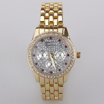 kingsky-quartz-watch-with-babysbreath-diamonds-squares-indicate-steel-watch-band-for-women