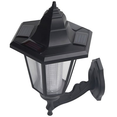 CIS-57222 Solar Power Wall Mounted Lamp White Light Garden LampCIS-57222 Solar Power Wall Mounted Lamp White Light Garden Lamp<br><br>Powered source: Solar<br>Light type: Night Light, Solar Light<br>Light color: Natural White<br>Features: Rechargeable, Sensor<br>Package weight: 0.42 kg<br>Product size (L x W x H): 16 x 16 x 28 cm<br>Package size (L x W x H): 14.5 x 17 x 18 cm<br>Package Contents: 1 x Solar Lamp