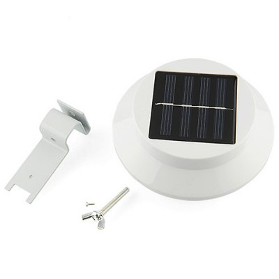 CIS - 57249 3 - LED Solar Powered Fence Gutter Light Outdoor Garden LampOutdoor Lights<br>CIS - 57249 3 - LED Solar Powered Fence Gutter Light Outdoor Garden Lamp<br><br>Type: LED Solar, Path Lights, Lawn Lights<br>Powered source: Solar<br>Light type: Solar Light<br>Light color: Natural White<br>Features: Rechargeable<br>Package weight: 0.2 kg<br>Package size (L x W x H): 12.4 x 12.4 x 7 cm<br>Package Contents: 1 x Solar Lamp