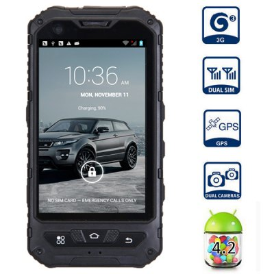 A8 4.0 inch 3G Smartphone Android 4.2 MTK6572 Dual Core 1.3GHz 4GB WVGA Screen G