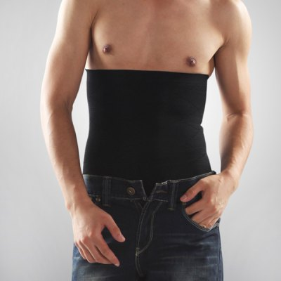 Practical and Durable Elastic Beer Belly Fat Burn Corset Belt for Men