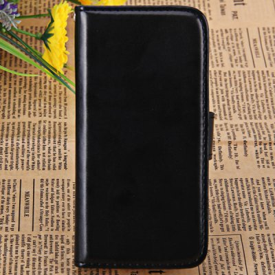 Cool Crazy Horse Style PU Leather and PC Case for iPhone 5 / 5S / 5C with Card Holder and Stand Function