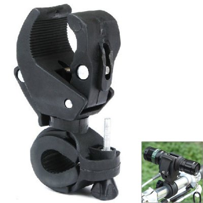 Bicycle Bike Flashlight Light Mount Clip Support
