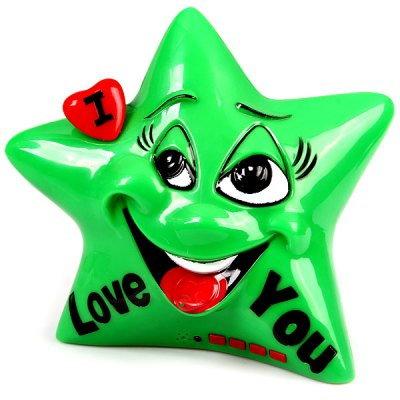 F20A Five-pointed Star Cartoon Style Mini Music Speaker