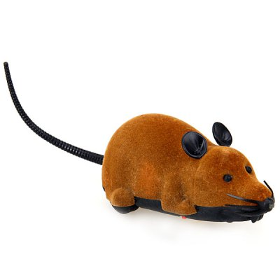 Гаджет   Remote Control Mouse with Realistic Appearance for Playing Tricks on Cats Classic & Retro Toys