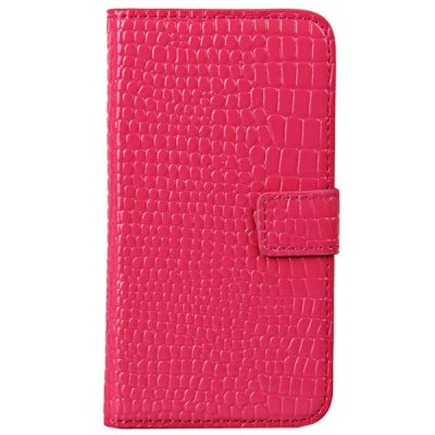 ФОТО Artificial Leather and Plastic Material Protective Case Cover with Crocodile Veins Pattern for Samsung Galaxy S4 i9500 , i9505