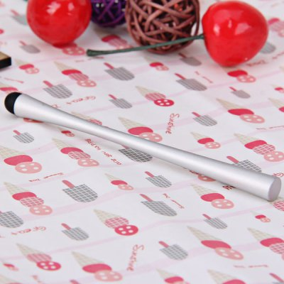 ФОТО Cool Design Aluminum Alloy Stylus Pen for for iPhone 5 / 5S / 5C , Samsung S4 i9500 / i9505 , Nokia , Sony , HTC , etc
