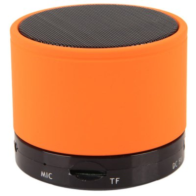 S10 Fashionable Mini Wireless Portable Bluetooth Speaker Built-in Lithium Battery for iPhone 6S / 6S Plus / iPad ProSpeakers<br>S10 Fashionable Mini Wireless Portable Bluetooth Speaker Built-in Lithium Battery for iPhone 6S / 6S Plus / iPad Pro<br><br>Model: SK-S10<br>Design: Fun, Mini, Multifunctional, Portable<br>Features: Wireless Bluetooth, Cylinder Shaped, Built-in Lithium Battery<br>Supports: Bluetooth, Volume Control, TF Card Music Playing<br>Functions: Stereo, AUX Function<br>Compatible With: iPhone, MP4, PSP, MP5, Laptop, Mobile Phone, Tablet PC, PC, TF/Micro SD Card, iPod, MP3<br>Connection: Wireless<br>Interface: Power Charge Port, 3.5mm Audio, TF Card Slot<br>Audio Source: Bluetooth Enabled Devices, TF/Micro SD Card, Electronic Products with 3.5mm Plug<br>Material: Metal, Plastic<br>Color: Red, Orange, Pink, Green, Purple, White, Blue, Yellow, Black<br>Power Output: 3 W<br>Freq: 280Hz-16KHz<br>S/N: 95dB<br>Power Source: USB<br>Charging Voltage: 5 V<br>Input: DC 5V 500mA<br>Charging Time: 2 hours<br>Lasting Time: 5 hours<br>Battery Capacity: 520 mAh<br>Product Weight: 0.230 kg<br>Package Weight: 0.297 kg<br>Product Size (L x W x H): 6.0 x 6.0 x 5.0 cm<br>Package Size (L x W x H): 7.0 x 7.0 x 8.0 cm<br>Package Contents: 1 x Speaker, 1 x 2-in-1 Cable, 1 x English User Manual