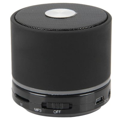 BK - S11 Mini Super Bass Wireless Portable Bluetooth Speaker Support TF Card/MP3 with Hands-free Calls Function for iPhone 6S / 6S Plus / iPad Pro