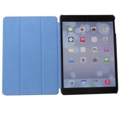 Fashion Style PU Leather Case for iPad Air / 5 with Foldable Stand FunctioniPad Cases/Covers<br>Fashion Style PU Leather Case for iPad Air / 5 with Foldable Stand Function<br><br>Compatible for Apple: iPad Air<br>Features: Full Body Cases, Cases with Stand<br>Material: Plastic, PU Leather<br>Style: Special Design<br>Color: Blue, Black, White, Red<br>Product weight : 0.250 kg<br>Package weight : 0.300 kg<br>Product size (L x W x H): 24.4 x 17.7 x 1.4 cm / 9.59 x 6.96 x 0.55 inches<br>Package size (L x W x H) : 24.0000 x 18.0000 x 1.0000 cm / 9.43 x 7.07 x 0.39 inches<br>Package Contents: 1 x Case