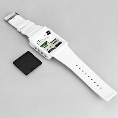 AOKE 912 Watch Cell Phone with 1.5 inch QVGA Touch Screen Quad Band Single SIM Bluetooth