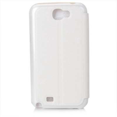 Newtons Silk Pattern Artificial Leather and Plastic Case with Stand Function for Samsung Galaxy Note 2 N7100