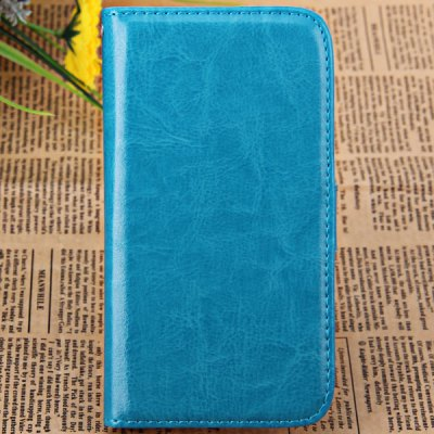 PU Leather and Plastic Wallet Cover Case with Crazy Horse Pattern for Samsung Galaxy S4 i9500 / i9505