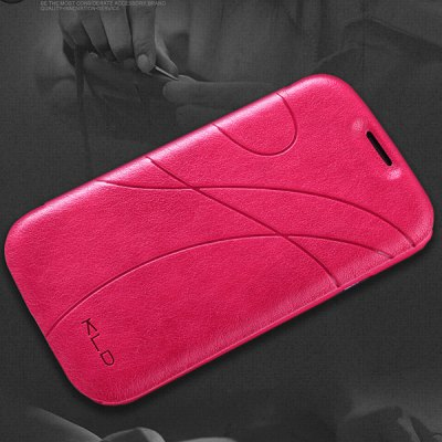 Kalaideng Unique PU Leather + Plastic Cover Case for Samsung Galaxy S3 i9300 with Curve Pattern