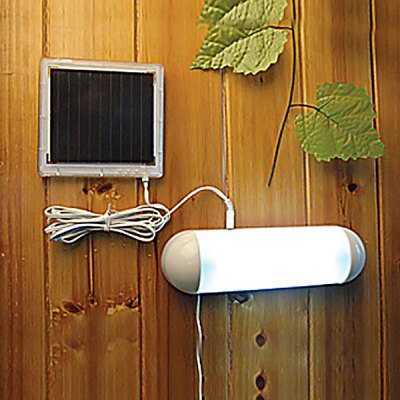 CIS-53335 Solar Garden Switch Lamp Shed Yard Light