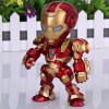 Super Cool American Hero Funny Body Design Funny Appearence Iron Man with Movable Joints Figure Model Q Version