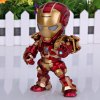 cheap Super Cool American Hero Funny Body Design Funny Appearence Iron Man with Movable Joints Figure Model Q Version