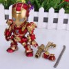 Super Cool American Hero Funny Body Design Funny Appearence Iron Man with Movable Joints Figure Model Q Version deal
