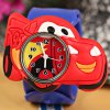 cheap Cool Pat Watch with Cars Shape Dial and Silica Gel Band for Children