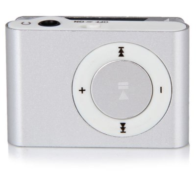 Гаджет   Compact MP3 Player 3.5mm Jack with 8GB Micro SD Card/Back Metal Clip/USB Interface MP3 & MP4 Players