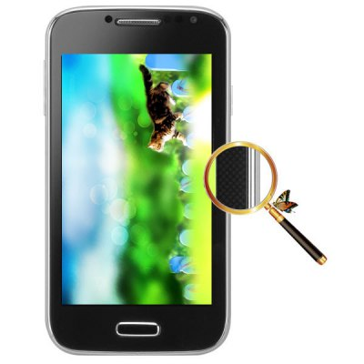 4 inch A9500 Android 2.3 Smart Phone SMDK4x12 1GHz WVGA Screen WiFi Dual Cameras BluetoothCell phones<br>4 inch A9500 Android 2.3 Smart Phone SMDK4x12 1GHz WVGA Screen WiFi Dual Cameras Bluetooth<br><br>Type: Smart Phone<br>OS: Android 2.3<br>CPU: smdk4x12<br>Cores: 1GHz<br>RAM: 256MB RAM<br>ROM: 256MB<br>External memory: TF card up to 8GB (not included)<br>WiFi: 802.11b/g/n wireless internet<br>Network type: GSM<br>Frequency: GSM850/900/1800/1900MHz<br>Bluetooth: Yes<br>Screen type: Capacitive (2-Points)<br>Screen size: 4.0 inch<br>Screen resolution: 800 x 480 (WVGA)<br>Camera type: Dual cameras (one front one back)<br>Back camera: 2.0MP<br>Front camera: 2.0MP<br>Video recording: Yes<br>SIM Card Slot: Dual SIM, Dual Standby<br>TF Card Slot: Yes<br>Micro USB Slot: Yes<br>Audio Out Port : Yes (3.5mm audio out port)<br>Microphone: Supported<br>Speaker: Supported<br>Picture format: BMP, PNG, JPEG, GIF<br>Music format: AAC, AMR, MP3<br>Video format: 3GP, AVI<br>MS Office format: Word, Excel, PPT<br>E-book format: TXT<br>Live wallpaper support: Yes<br>Games: Android APK, Java games<br>Language: English<br>Notice: If you need any specific language other than English and you must leave us a message when you checkout<br>Additional Features: People, Wi-Fi, E-book, Calendar, Browser, Alarm, Bluetooth, Sound Recorder, FM, MP4, Calculator, MP3<br>Cell Phone: 1<br>Battery: 1 x 1000mAh<br>Power Adapter: 1<br>USB Cable: 1<br>Leather Case: 1<br>Earphones: 1<br>English Manual : 1<br>Product size: 123 x 64 x 10 mm<br>Package size: 148 x 86 x 58 mm<br>Product weight: 93 g<br>Package weight: 0.5 kg