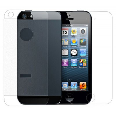 X-Max HD Front Screen Protector + Back Film + Camera Film for iPhone 5 / 5S