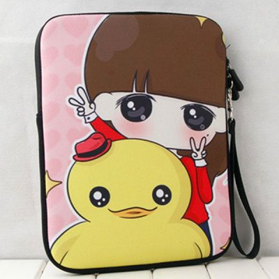 Xiao Xi with Duck Pattern Protective Bag for iPad Mini