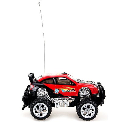 Гаджет   Chistmas Gifts New Simulation Kids Toy Infinitely Speeds High Speed Red Mini Music and LED Light RC Car Model Toy