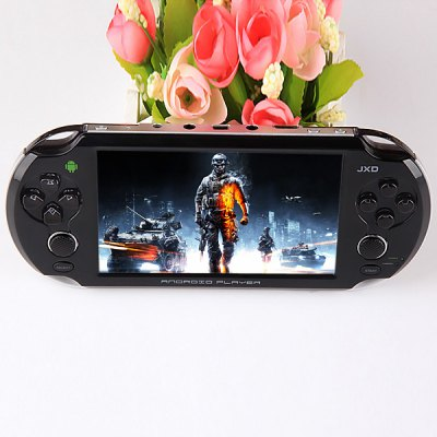 JXD - JXD S5110B Dual - core 1.3 GHz CPU 5.0 inch Game Player with 1G DDR3 Android 4.1.1 Full Touch Screen