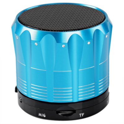 ФОТО S12 Metal Mini Bluetooth Speaker Stereo Portable Speaker with Bluetooth Hands - free Call Function