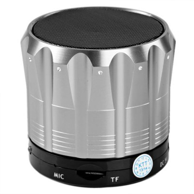 S12 Metal Mini Bluetooth Speaker Stereo Portable Speaker with Bluetooth Hands - free Call Function