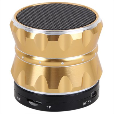 ФОТО S14 Metal Mini Bluetooth Speaker Stereo Portable Speaker Support Bluetooth Handfree/MP3/TF Card
