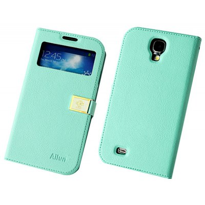 Hello Deere Ailun Series PU Leather + TPU Cover Case for Samsung Galaxy S4 i9500 / i9505 with Card Holder