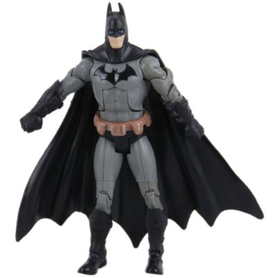 17cm Grey Batman Characteristic Collection Figure Movable Joints