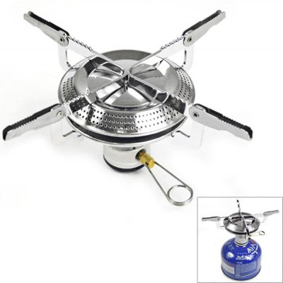 Portable and Heat-resistant Collapsible Disk Type Camping Stove