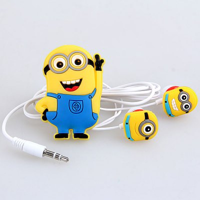 Cute Bee-do Pattern General 3.5mm Universal In-ear Earphones